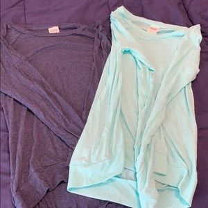 Combo VS Pink long sleeve shirts